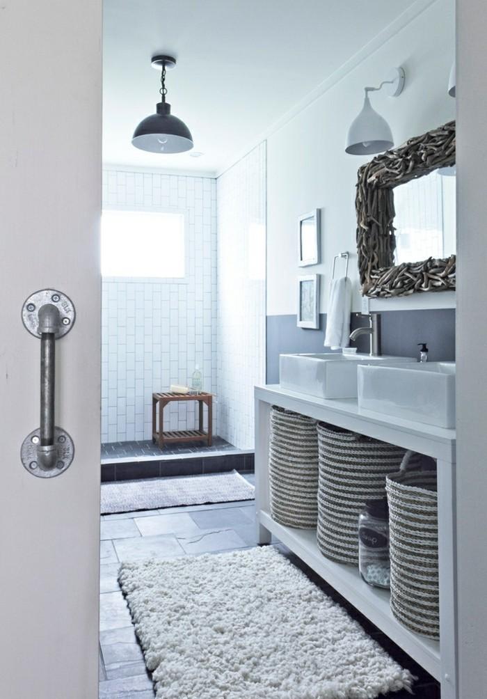 grand-tapis-salle-de-bain-tapis-ikea-belle-idée-paillasson-shaggy