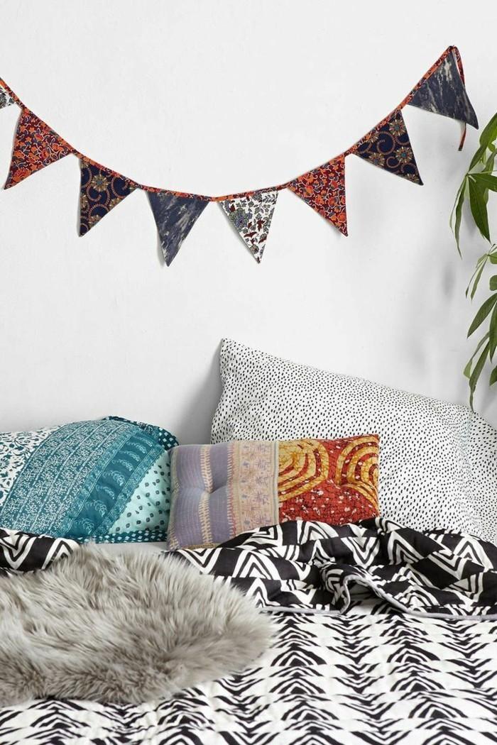 nos diy id es en photos avec une guirlande de no l. Black Bedroom Furniture Sets. Home Design Ideas