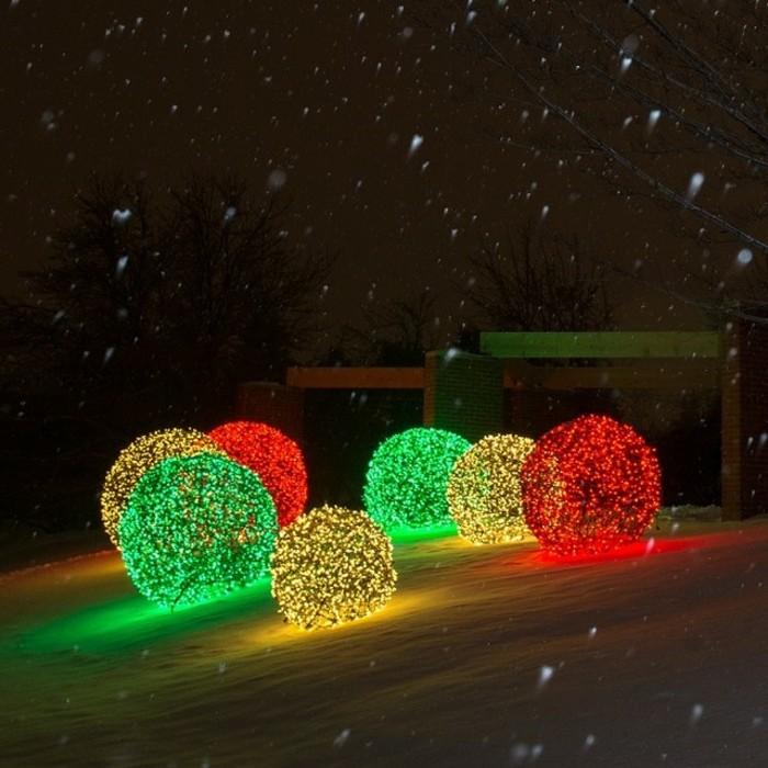 Boules De Noel Et Decoration