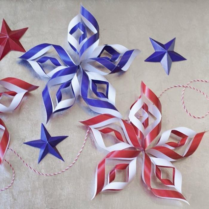 guirlandes-de-noel-table-noel-decoration-de-noel-a-faire-soi-meme-etoile-de-noel-en-papier