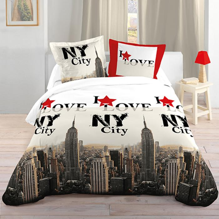 housse-de-couette-new-york-déco-chambre-à-coucher-à-thème-new-york