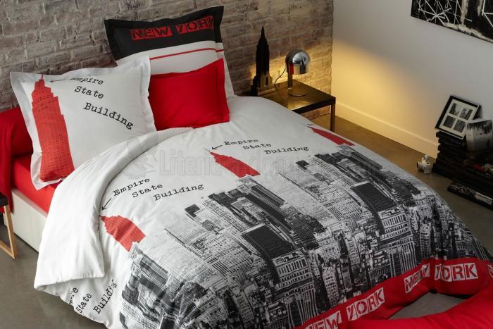 housse-de-couette-new-york-décorer-sa-chambre-à-coucher
