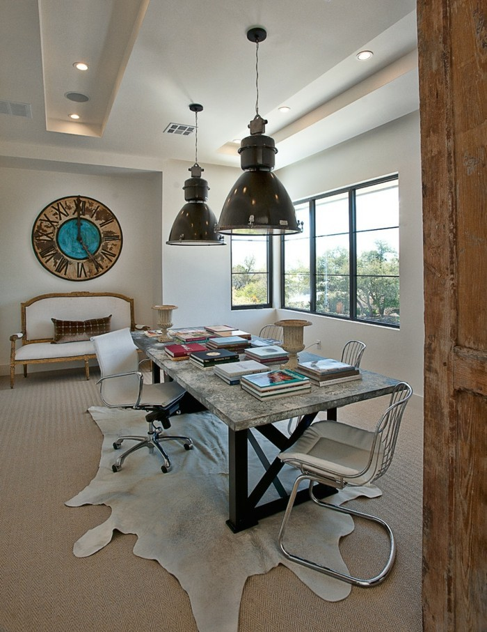 idée-déco-horloge-murale-géante-horloge-géante-design-intérieur-belle-chambre