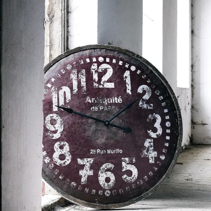45 id es pour le plus cool horloge g ante murale - Horloge murale geante vintage ...