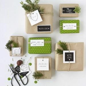 Le papier cadeau original pour offrir les plus beaux cadeaux en Noël!