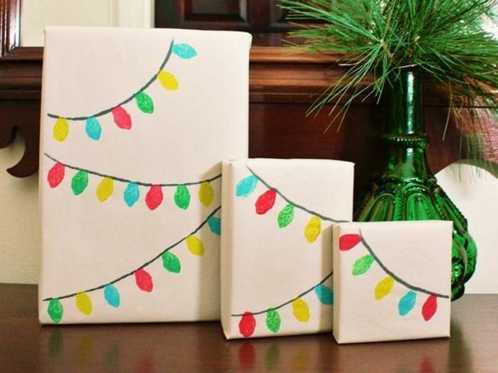 idée-papier-cadeaux-original-papiers-cadeaux-originaux-paquet-cadeau-lights-diy