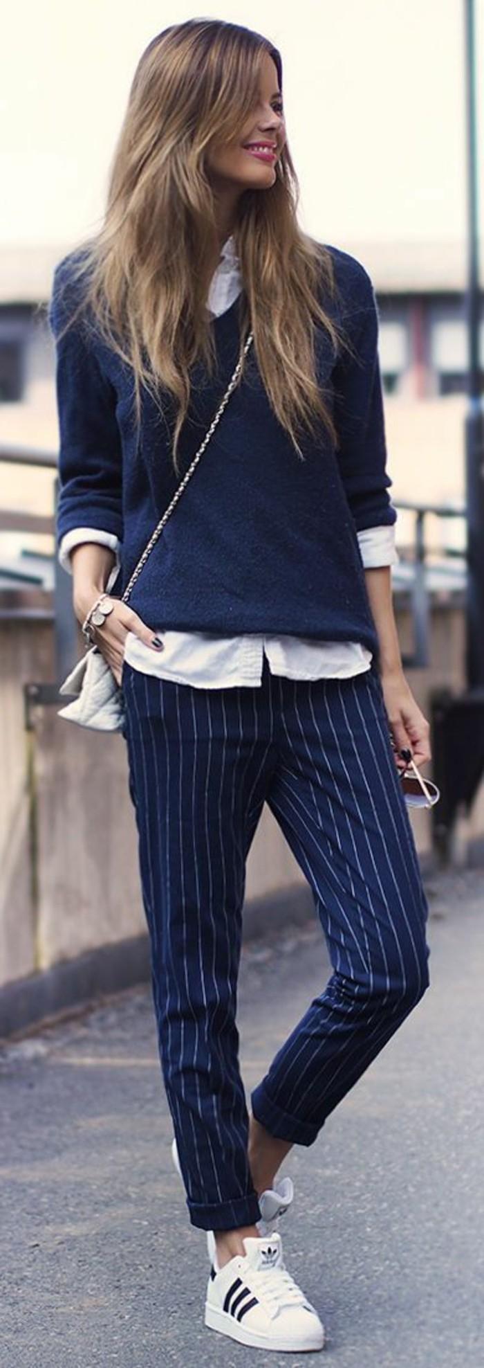 idée-pull-femme-jacquard-tenue-hiver-belle-femme