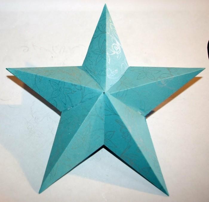 image-etoile-de-noel-bricolage-a-faire-etoile-de-noel-en-papier-bleue