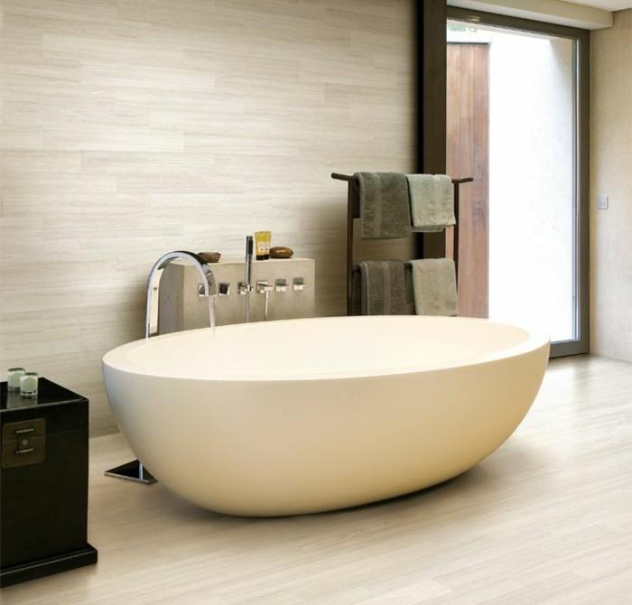 intérieur-de-lux-baignoire-design-baignoire-retro-beige-ovale-cool