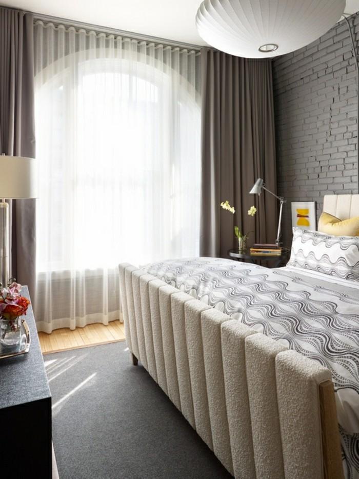 joli-chambre-à-couche-rideau-occultant-et-rideaux-voilages-original