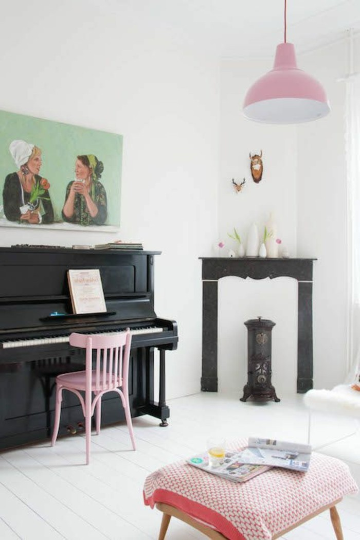 Comment cr er une ambiance scandinave 45 id es en photos for Image joli salon