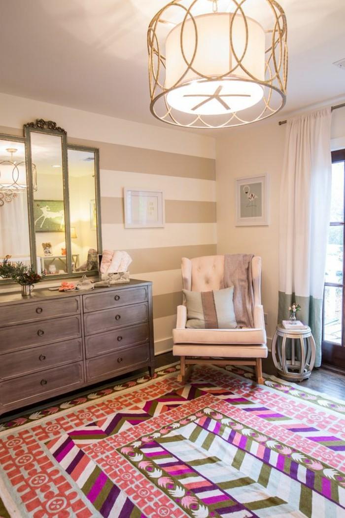 joli-salon-design-avec-tapis-saint-maclou-dans-le-salon-moderne-plafond-blanc-et-murs-blancs
