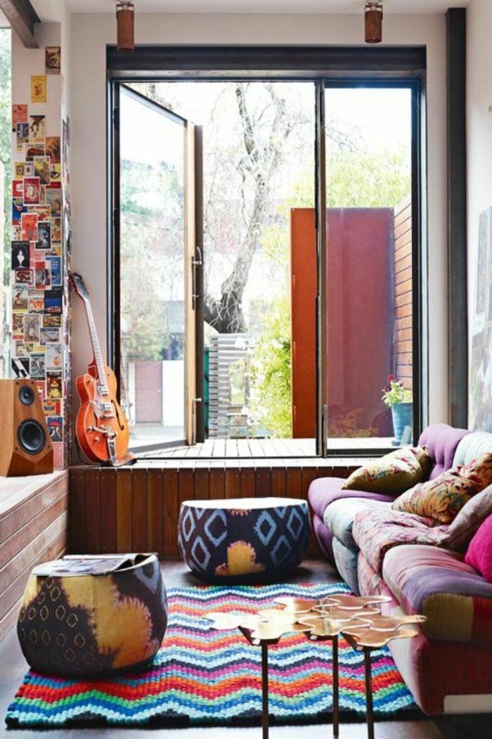 joli-salon-design-avec-tapis-saint-maclou-tapis-lesage-salon-art-chaise-art-dans-le-salon