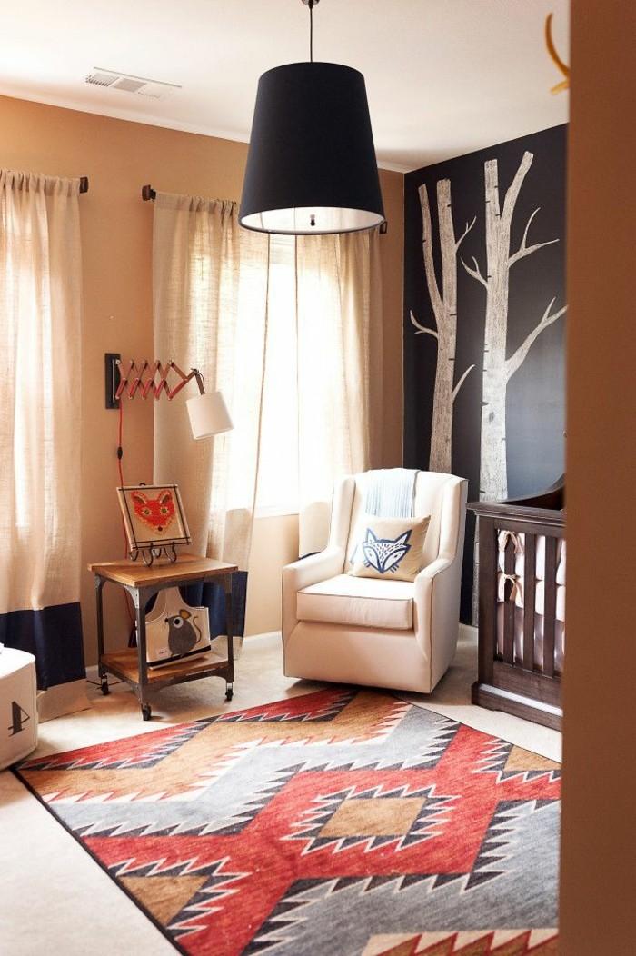 jolie-chambre-d-enfant-avec-tapis-roche-bobois-st-maclou-tapis-colore-dans-la-chambre-enfant