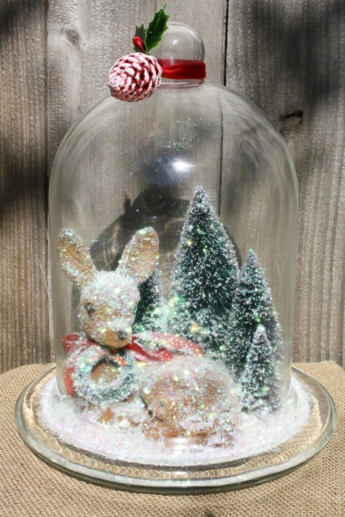 La cloche en verre en 43 belles photos avec beaucoup d 39 id es - Decoration de noel originale ...