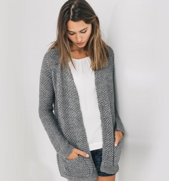 Favori Gilet long femme gris gilet long fin | Roleplay france OI15
