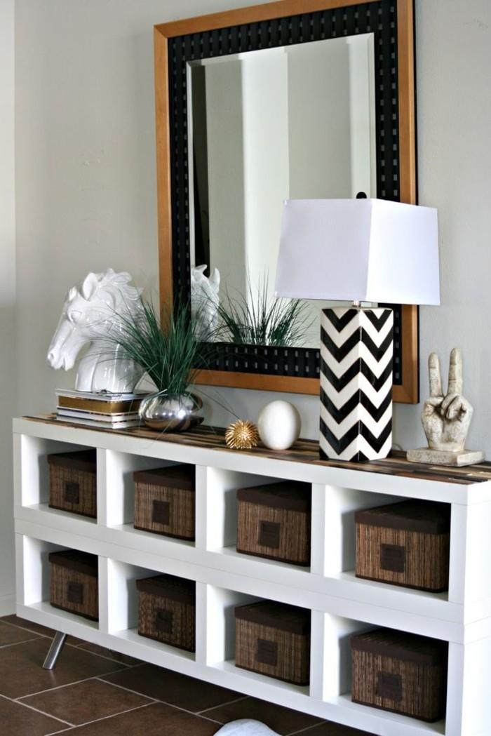 jolie-lampe-à-poser-design-intérieur-miroir