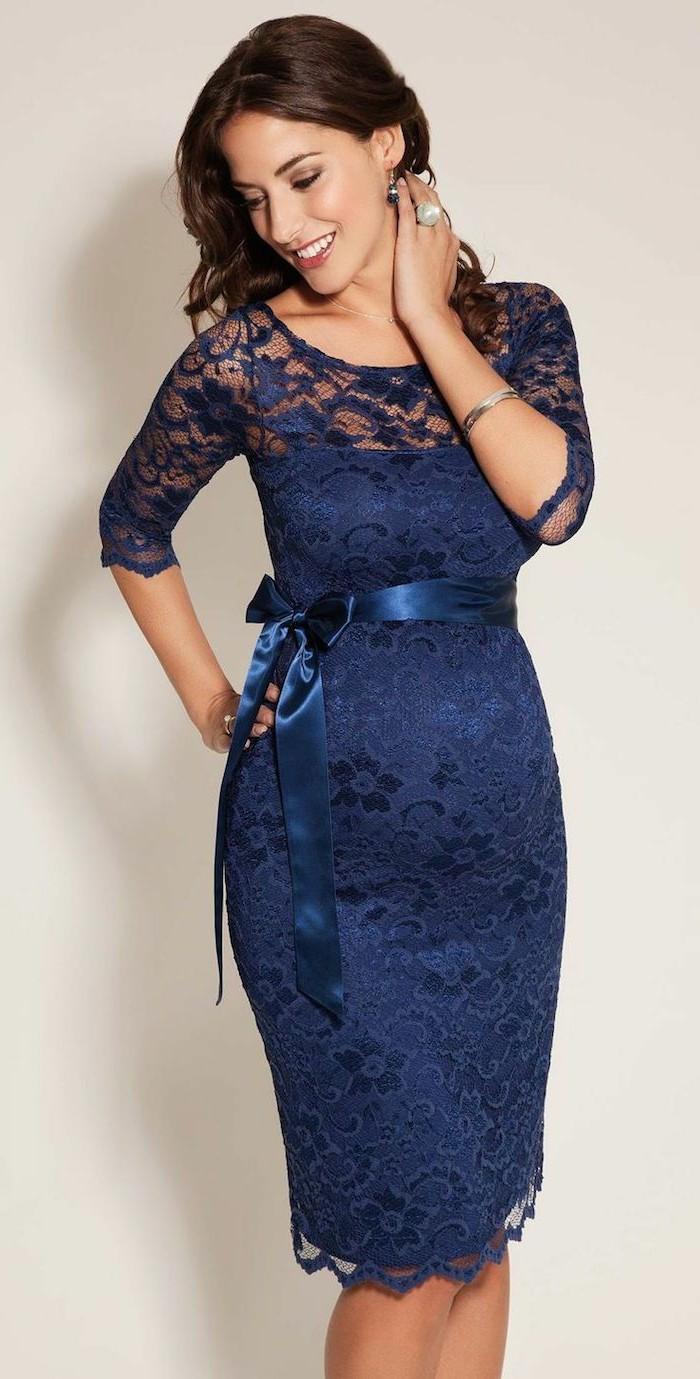 jolie-robe-bleu-foncé-dentelle-pour-les-femmes-modernes-robe-habillée-pas-cher-robe-de-soire