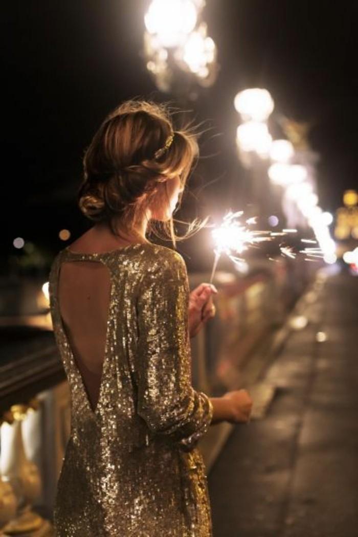 Les derni res tendances la robe pour le nouvel an - Look nouvel an ...