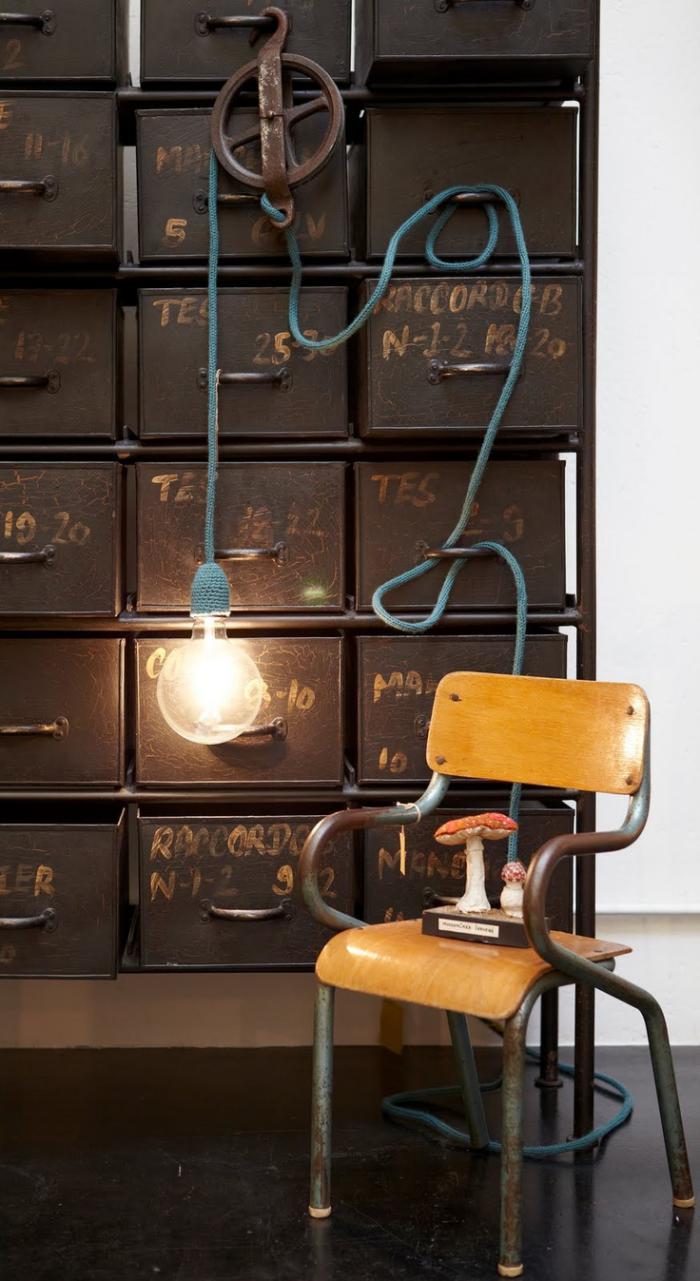 lampe-baladeuse-grande-ampoule-tricotin-bleu
