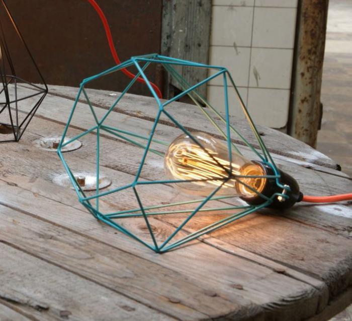 lampe-baladeuse-cage-bleue