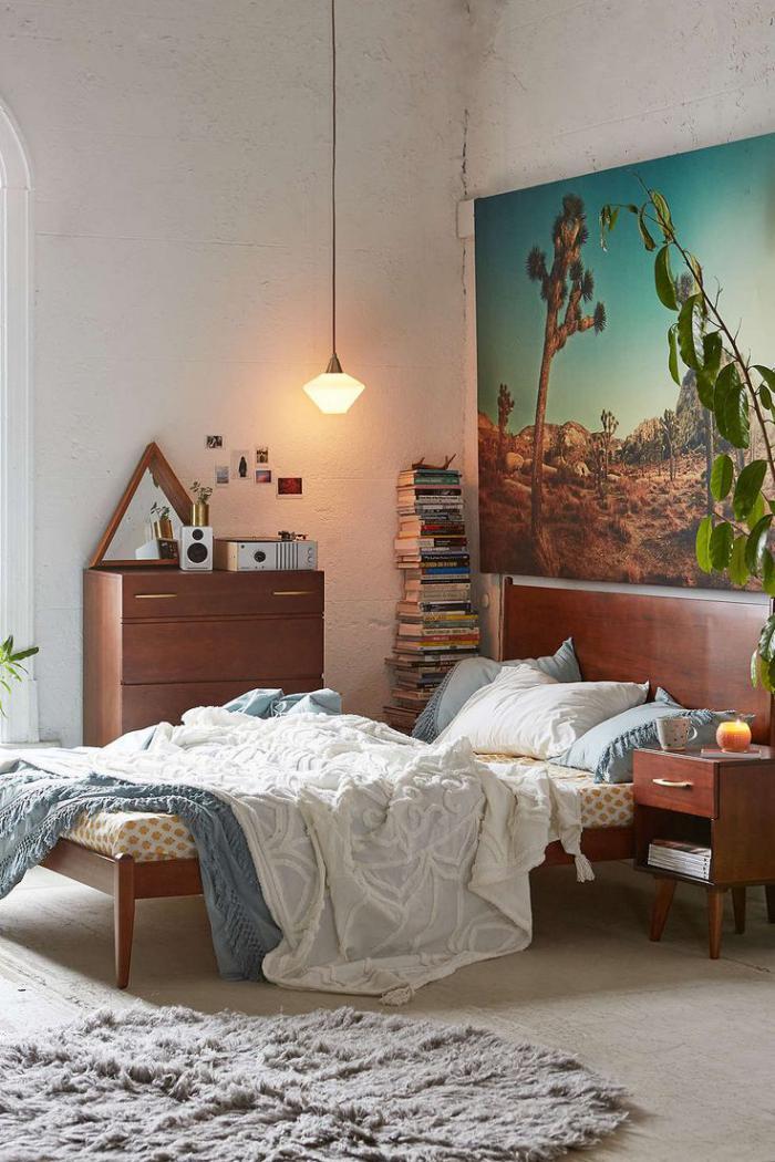lampes-de-chevet-idée-d'éclairage-dans-la-chambre-à-coucher