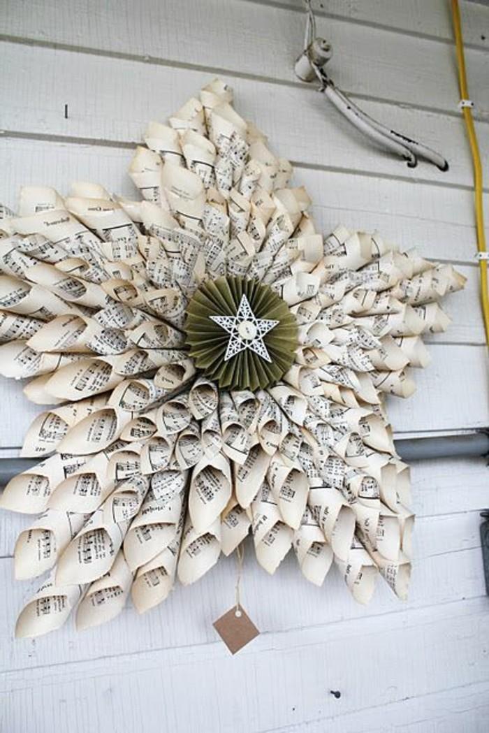 Etoile de noel en papier 80 id es qui vont vous charmer - Bricolage decoration facile ...