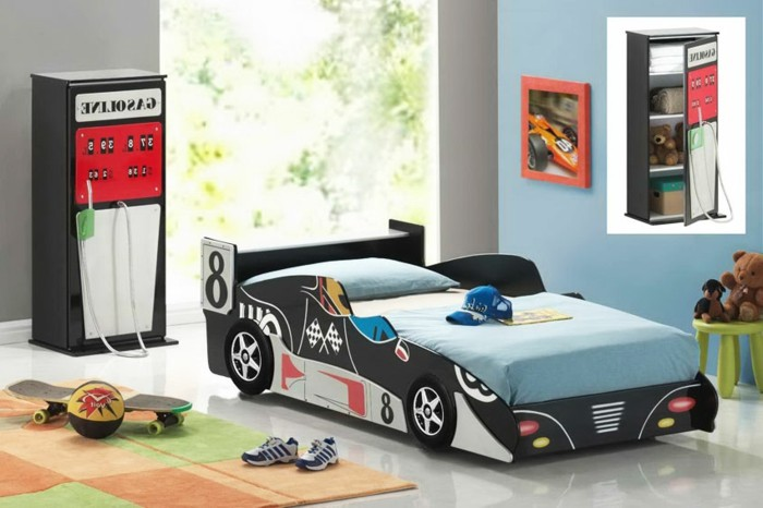 lit voiture garcon ferrari trendy lit voiture le mans lit. Black Bedroom Furniture Sets. Home Design Ideas