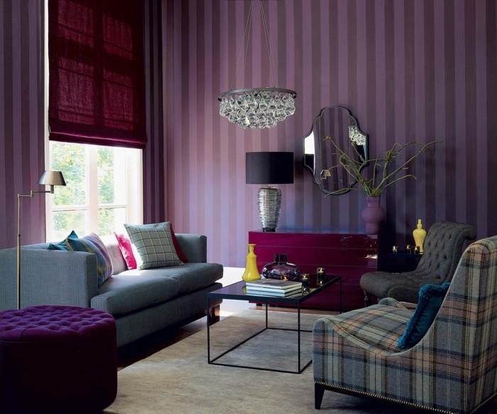 le-papier-peint-vintage-papier-peint-intissé-violet-retro
