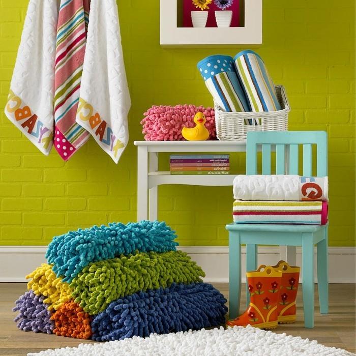 le-tapis-salle-de-bain-rond-essuie-pieds-bains-cool-amenagement