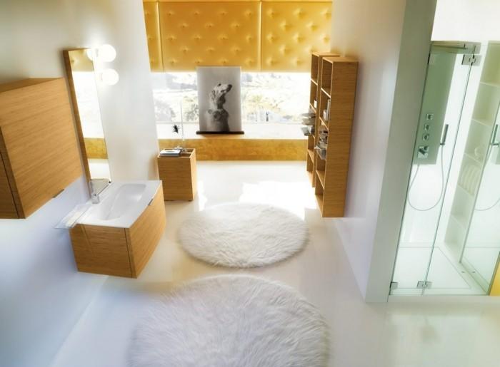 le-tapis-salle-de-bain-rond-essuie-pieds-bains-cool-en-blanc