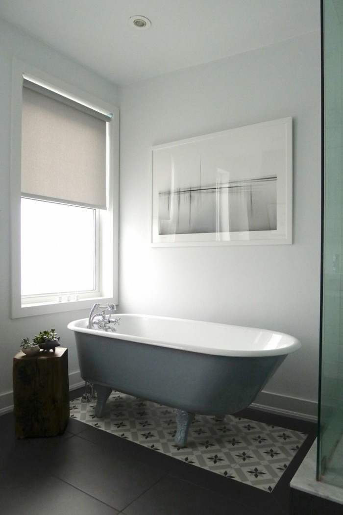 le-tapis-salle-de-bain-rond-essuie-pieds-bains-cool-gris