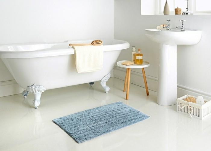 le-tapis-salle-de-bain-rond-essuie-pieds-bains-cool-idée