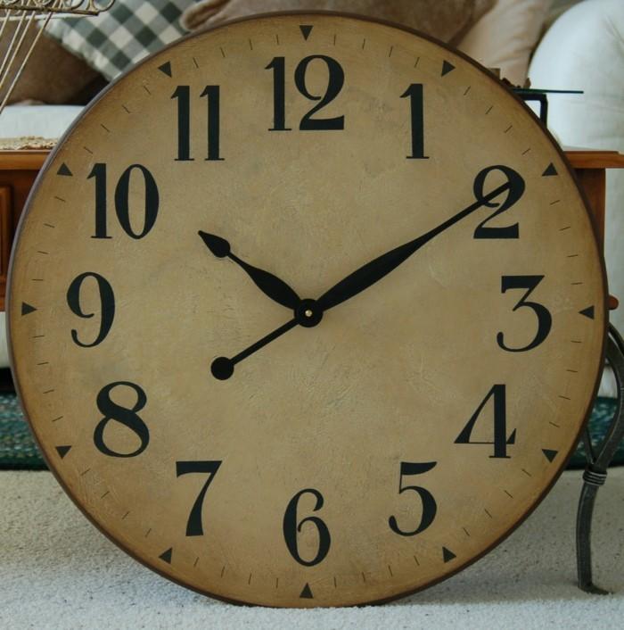 45 id es pour le plus cool horloge g ante murale - Horloge murale ancienne ...