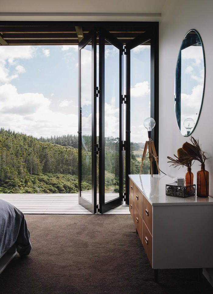 Les portes pliantes design en 44 photos for Un porte vue