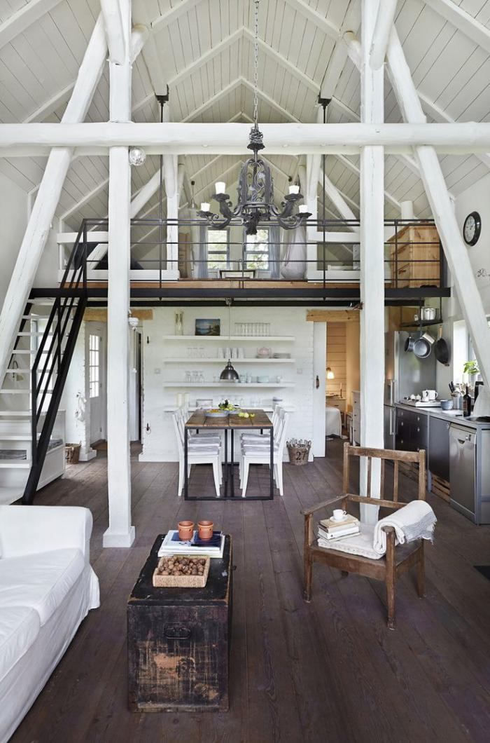 Super Les vieilles granges transformées en maisons lofts - Archzine.fr VV13