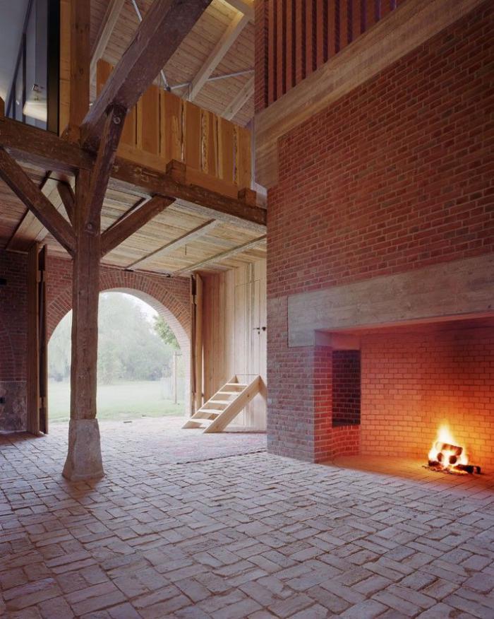 Les vieilles granges transform es en maisons lofts for Ideales fachwerk