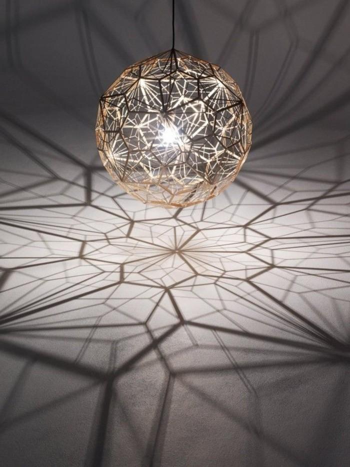 La lampe design en 44 photos magnifiques! Archzine fr # Lustre Design Bois