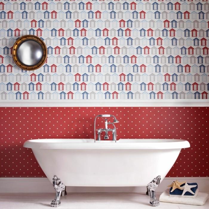 maison-papier-peint-vintage-papier-peint-baroque-baignoire