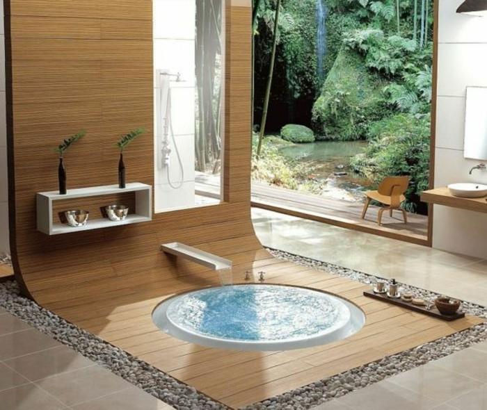meuble-salle-de-bain-teck-ikea-salle-de-bain-moderne-avec-carrelage-beige-bois-clair