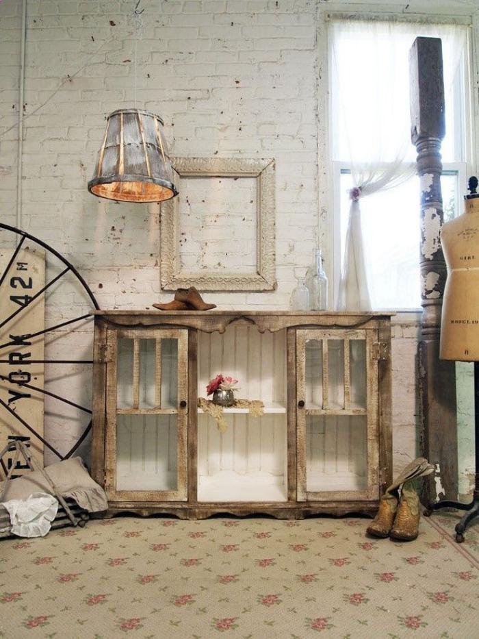 meubles-grange-aménagement-shabby-chic-style-grange