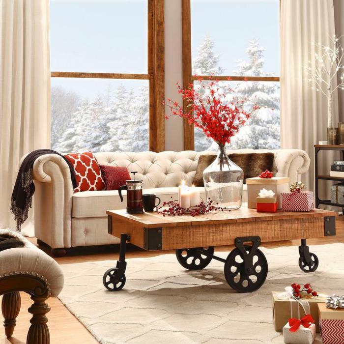 meubles-grange-belle-table-grange-en-bois-sur-roues