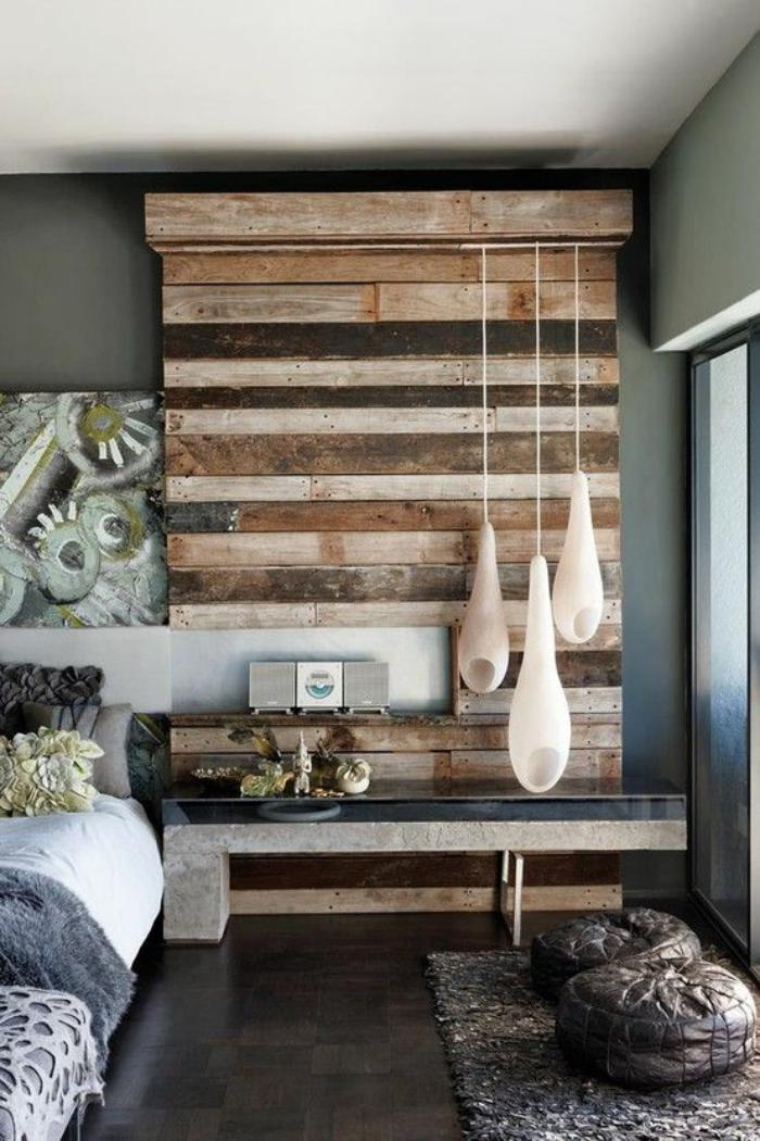 fantastic reclaimed wood feature wall ideas wall