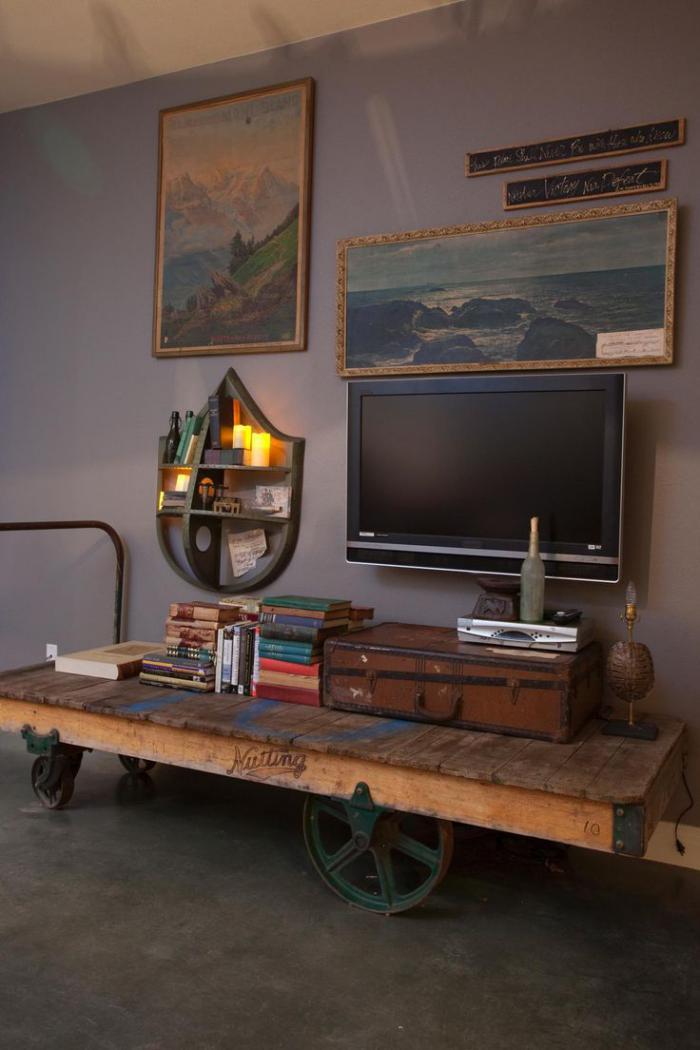 meubles-grange-décor-original-avec-du-bois-récup