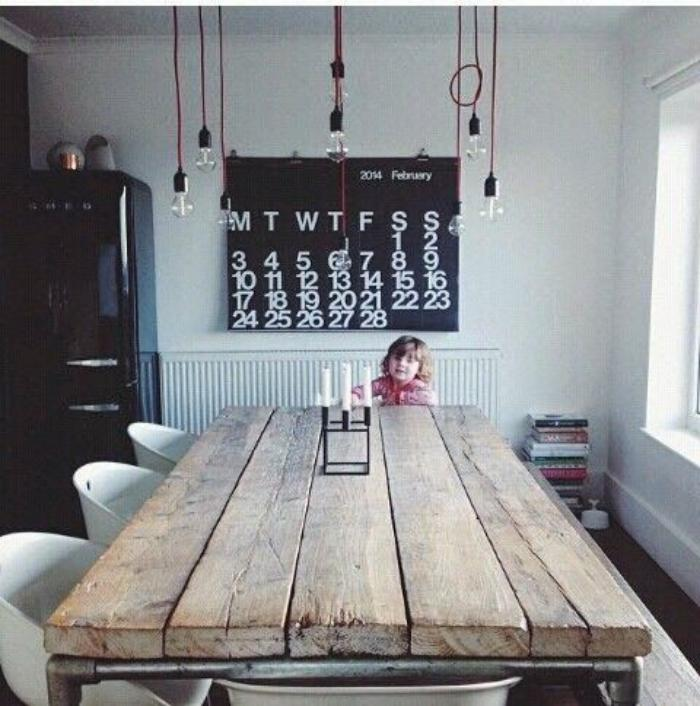 Les meubles grange dans l 39 int rieur contemporain - Deco chalet hout ...