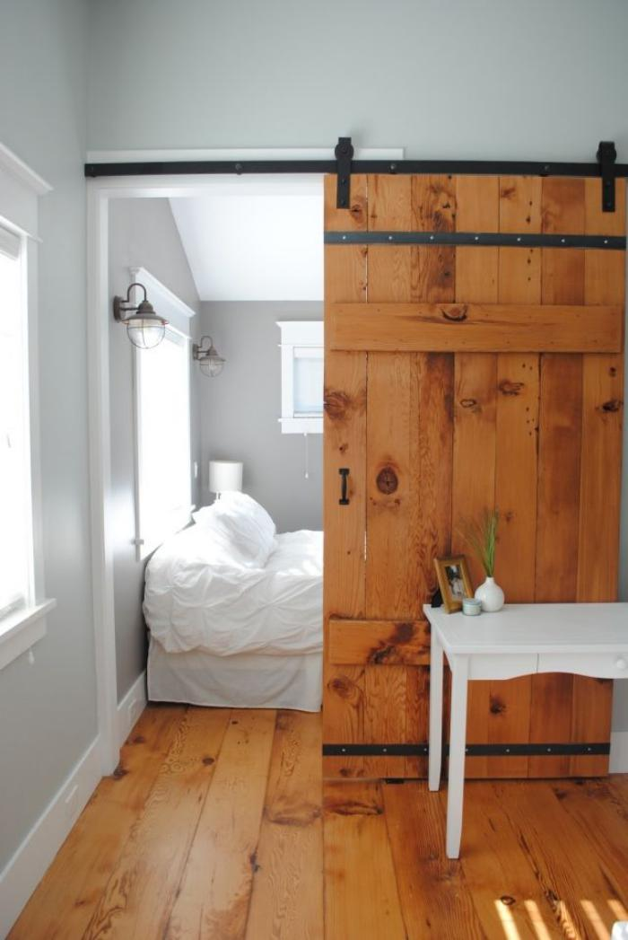 Les meubles grange dans l 39 int rieur contemporain for Meuble porte grange