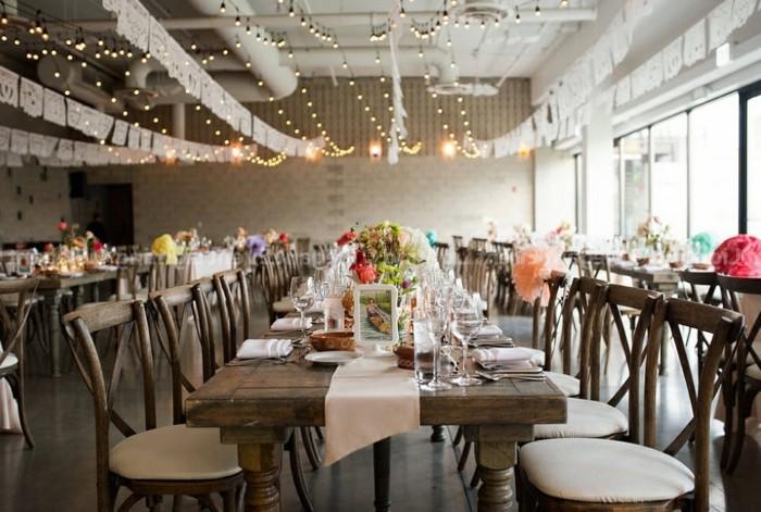 Decoration Lumineuse Table Mariage : Beaucoup d idées déco avec la guirlande lumineuse boule