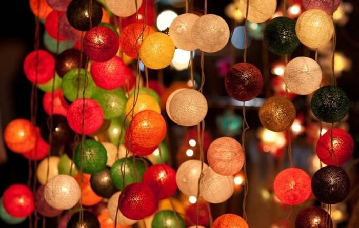 Chambre Deco Disney : Beaucoup d idées déco avec la guirlande lumineuse boule