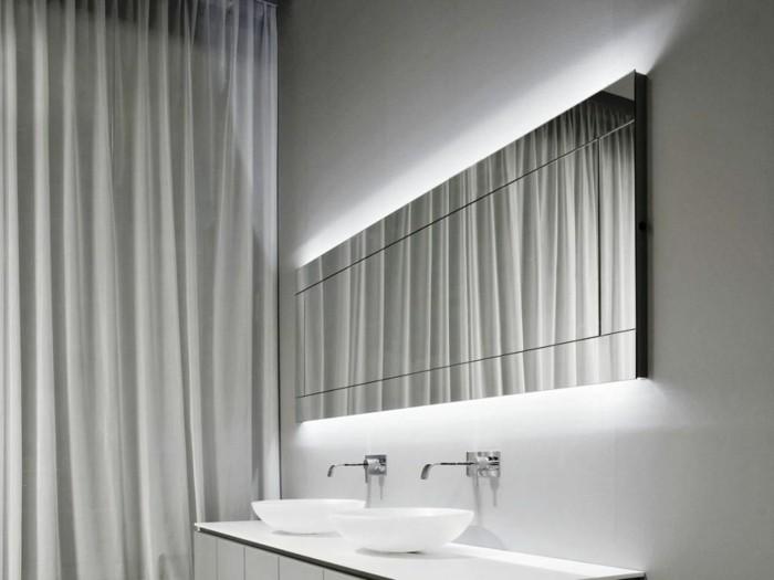 Mille et une id es pour choisir le meilleur miroir lumineux - L amour dans la salle de bain ...