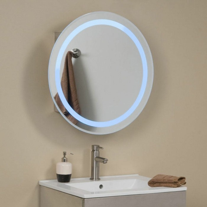 Stunning miroir rond leroy merlin with miroir grossissant for Miroir soleil leroy merlin